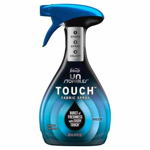 Febreze Unstoppables Touch Fabric Spray Perspective: front