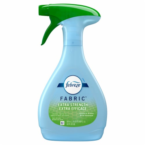 Febreze Fabric Botanical Breeze Extra Strength Fabric Refresher Perspective: front