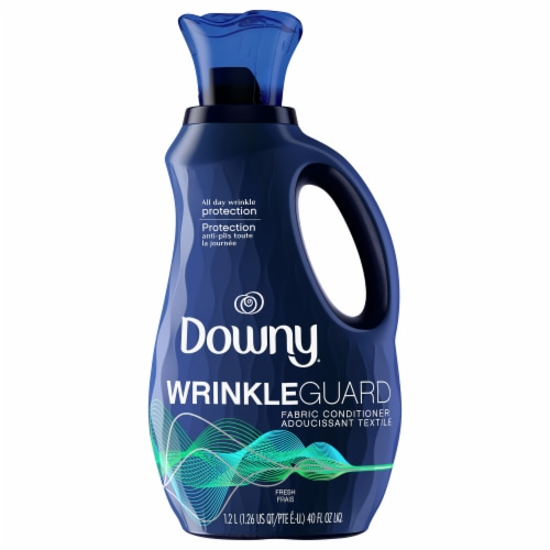 Downy WrinkleGuard Fresh Liquid Fabric Conditioner Perspective: front