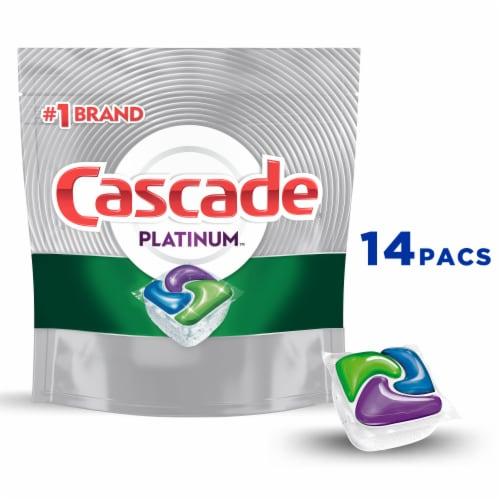 Cascade Platinum Fresh Scent Dishwasher Detergent ActionPacs Perspective: front