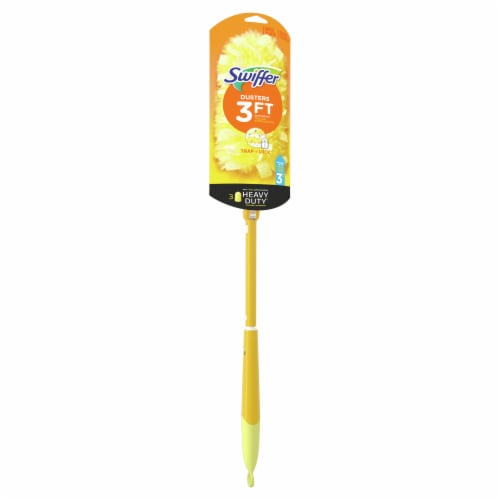 Swiffer 360 Heavy Duty Duster with Extendable Handle Starter Kit Perspective: front