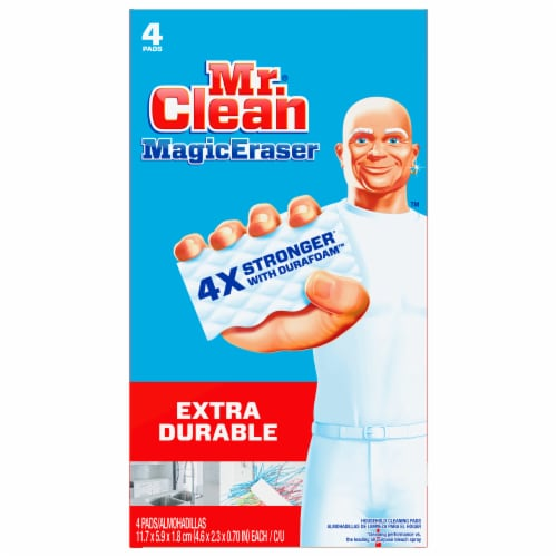Mr. Clean Magic Eraser Extra Durable Cleaning Pads Perspective: front