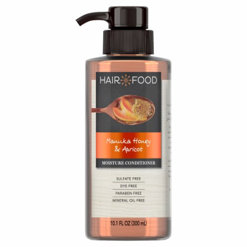 Hair Food Manuka Honey & Apricot Sulfate Free Conditioner Dye Free Moisturizing Perspective: front