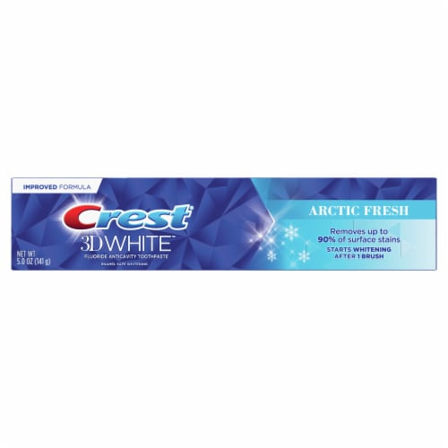 Crest 3D White Arctic Fresh Toothpaste Perspective: front