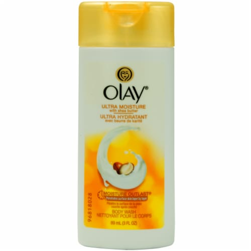Olay Ultra Moisture Shea Butter Body Wash Perspective: front