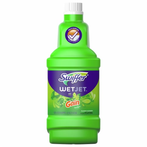 Swiffer WetJet with Gain Multi-Surface Floor Cleaner Perspective: front