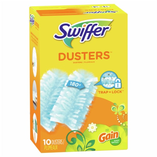Swiffer with Gain Scent Dusters Perspective: front