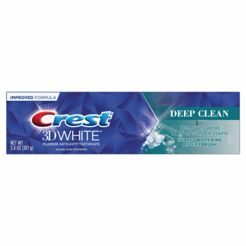 Crest® 3D White Deep Clean Toothpaste Perspective: front
