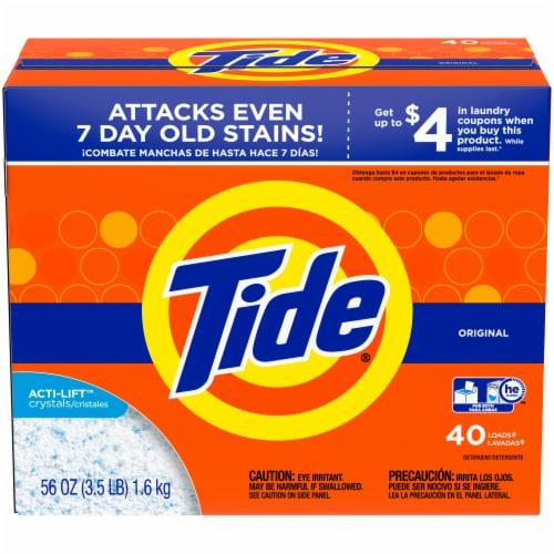 Tide Original Powder Laundry Detergent Perspective: front