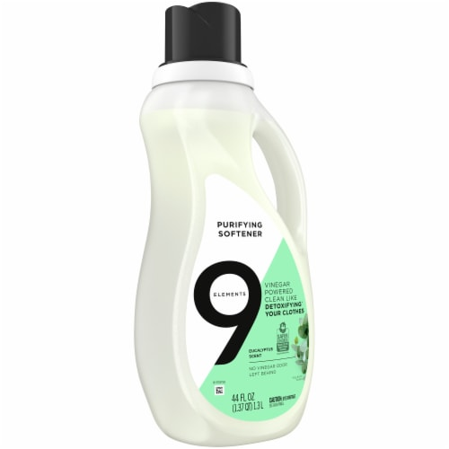 9 Elements Eucalyptus Purifying Fabric Softener Perspective: front