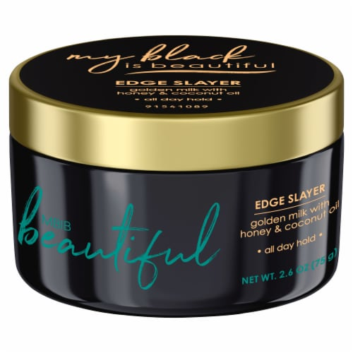 My Black is Beautiful Golden Milk with Honey & Coconut Oil Edge Slayer Perspective: front