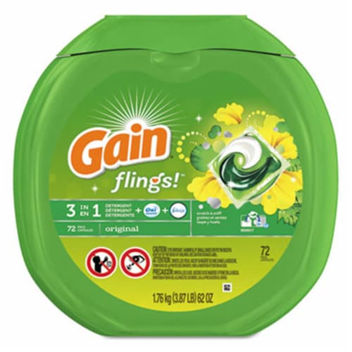 Gain  Laundry Detergent 86792 Perspective: front