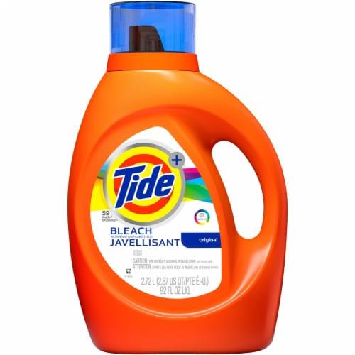 Tide Plus Bleach Alternative Liquid Laundry Detergent Perspective: front