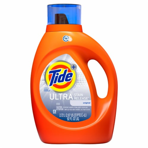 Tide Ultra Stain Release Original Liquid Laundry Detergent Perspective: front