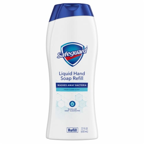 Safeguard Fresh Clean Scent Liquid Hand Soap Refill Perspective: front