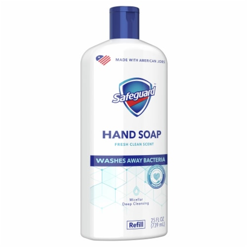 Safeguard Fresh Clean Liquid Hand Soap Refill Perspective: front