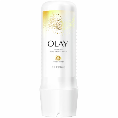 Olay with Shea Butter Rinse-Off Body Conditioner for Women Perspective: front