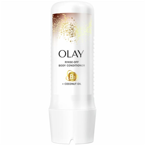 Olay Rinse-Off Body Conditioner with Coconut Oil for Women Perspective: front