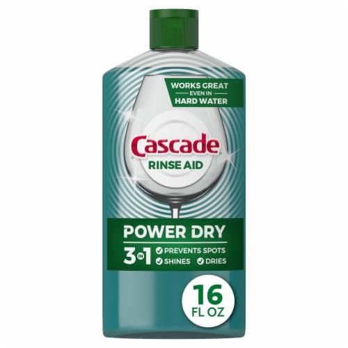 Cascade Platninum Rinse Aid Perspective: front