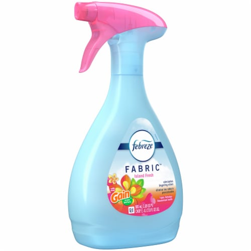 Febreze Gain Island Fresh Scent Fabric Refresher Spray Perspective: front