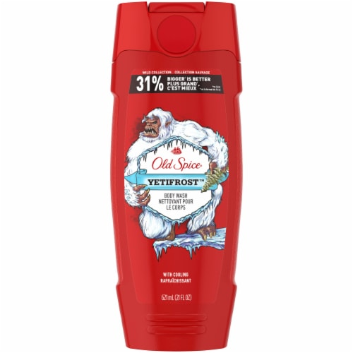 Old Spice Wild Collection Yetifrost Body Wash Perspective: front