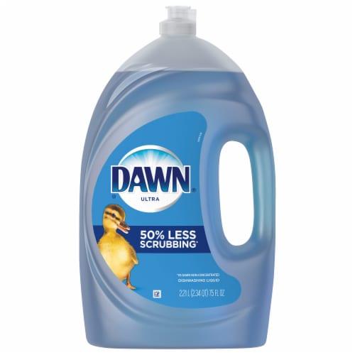 Dawn Ultra Dishwashing Liquid Dish Soap Original Scent Perspective: front