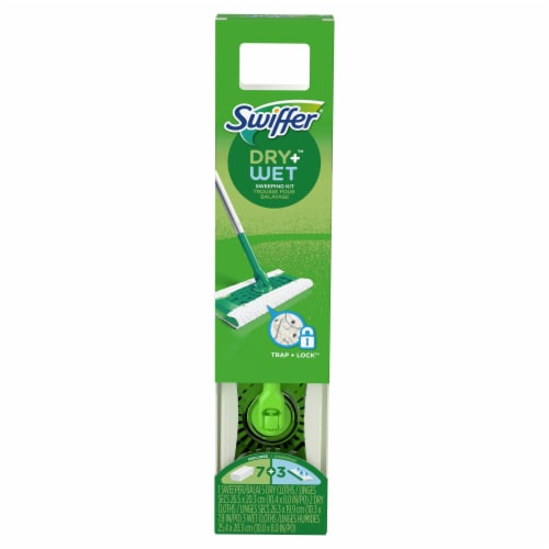 Swiffer Sweeper Dry and Wet Floor Mop Starter Kit Perspective: front