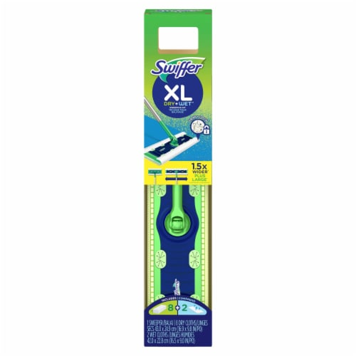 Swiffer XL Dry + Wet Sweeping Kit Perspective: front