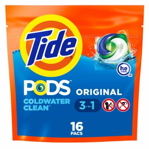 Tide® PODS™ Original Laundry Detergent Pacs Perspective: front