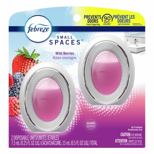 Febreze Air Freshener Nonenergized Continuous Action Berry Perspective: front