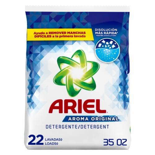 Ariel Original Laundry Detergent Powder Perspective: front