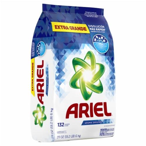 Ariel High Suds Original Powder Laundry Detergent Perspective: front