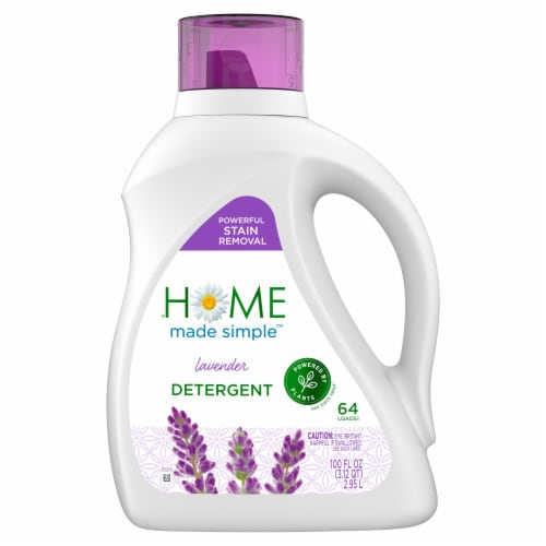 Home Made Simple Lavender Laundry Detergent Perspective: front
