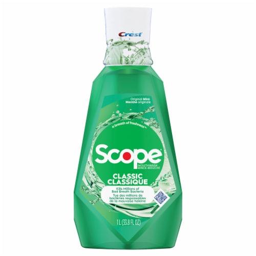 Crest® Scope® Classic Mouthwash Original Formula Perspective: front
