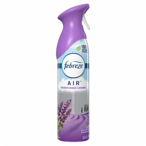Febreze Air Mediterranean Lavender Scent Air Refresher Perspective: front