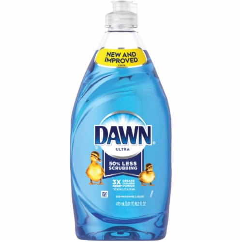 Dawn Ultra 16.2 Oz. 3X Concentrated Original Scent Dish Soap 3700097302 Perspective: front
