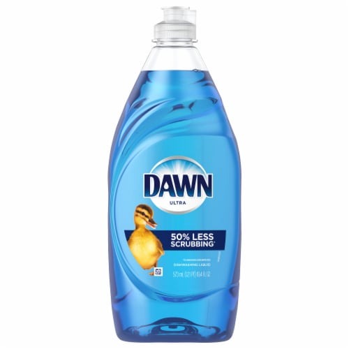 Dawn Ultra Dishwashing Liquid Dish Soap Original Scent Perspective: front