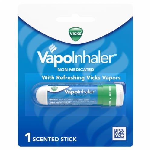 Vicks Non-Medicated Menthol Scent VapoInhaler Perspective: front