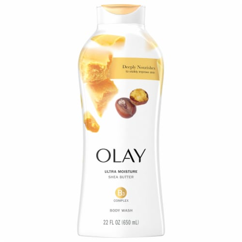 Olay Ultra Moisture Body Wash for Women with Shea Butter Perspective: front