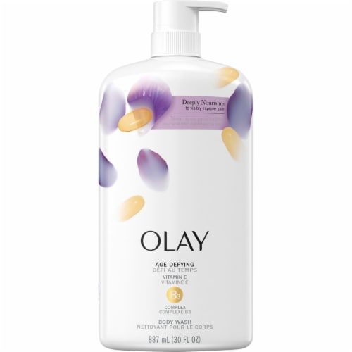 Olay Age Defying with Vitamin E Body Wash for Women Perspective: front
