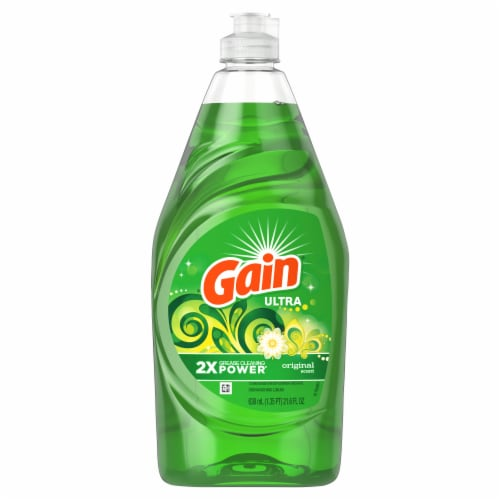 Gain Ultra Original Dishwashing Liquid Perspective: front