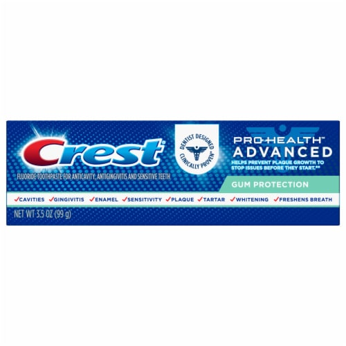 Crest Pro-Health Toothpaste Advanced Gum Protection Perspective: front