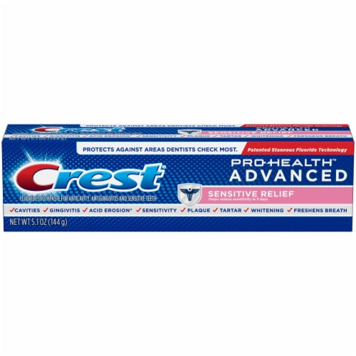 Crest Pro-Health Advanced Sensitive Enamel Shield Toothpaste Perspective: front