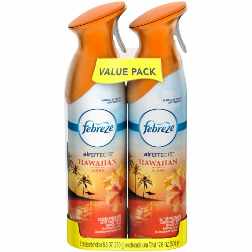 Febreze Hawaiian Aloha Air Freshener Value Pack Perspective: front