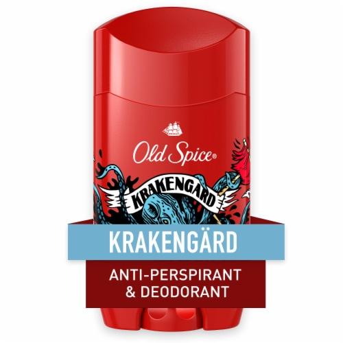 Old Spice Men Wild Collection Krakengard Antiperspirant Deodorant Perspective: front