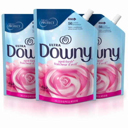 Downy April Fresh Liquid Fabric Conditioner Perspective: front