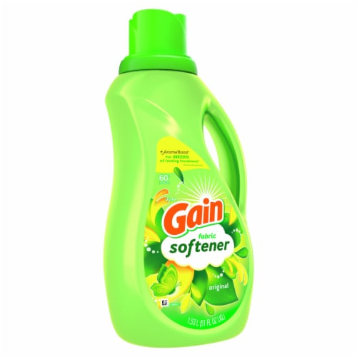 Gain Original Liquid Fabric Softener Perspective: front