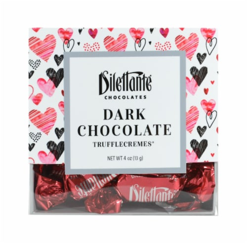 Dilettante Chocolates Dark Chocolate TruffleCremes Perspective: front