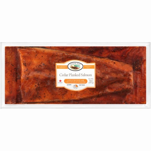 Cedar Bay Applewood Smoked & Orange Salmon Perspective: front