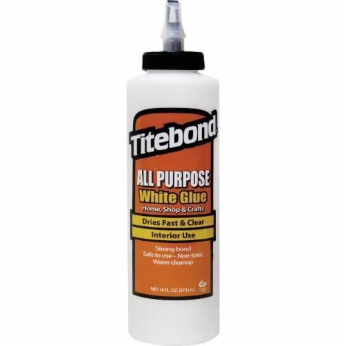 Titebond 16 Oz. White All-Purpose Glue 5034 Perspective: front